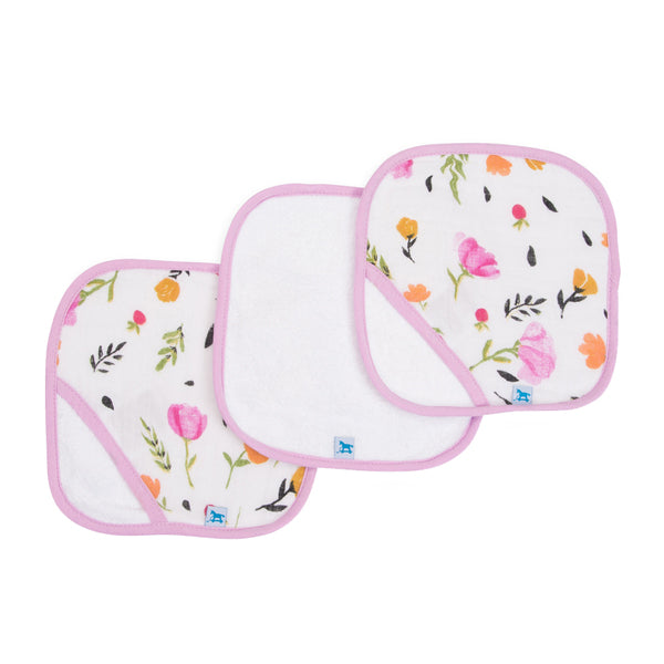 Little Unicorn Washcloth Set - Berry & Bloom