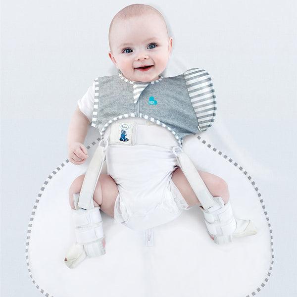 Love to Dream Swaddle UP 50/50 Hip Harness 1.0 TOG Swaddle