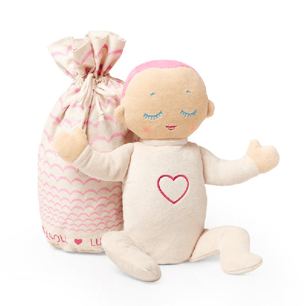 Lulla Doll Baby Sleep Companion - Coral