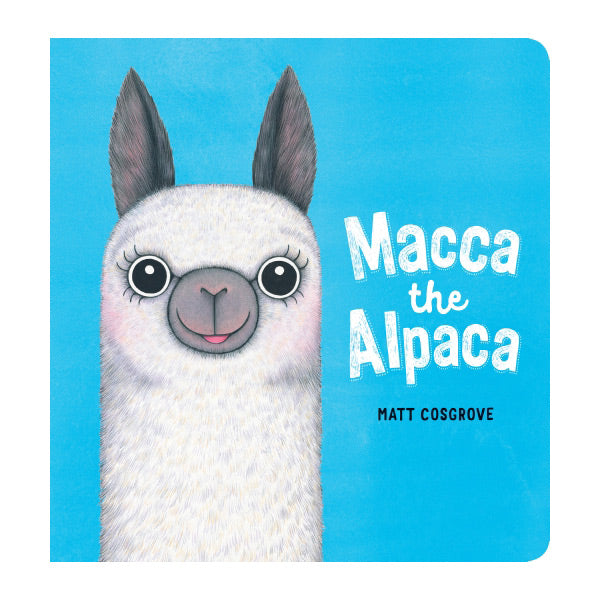 Macca The Alpaca Board Book