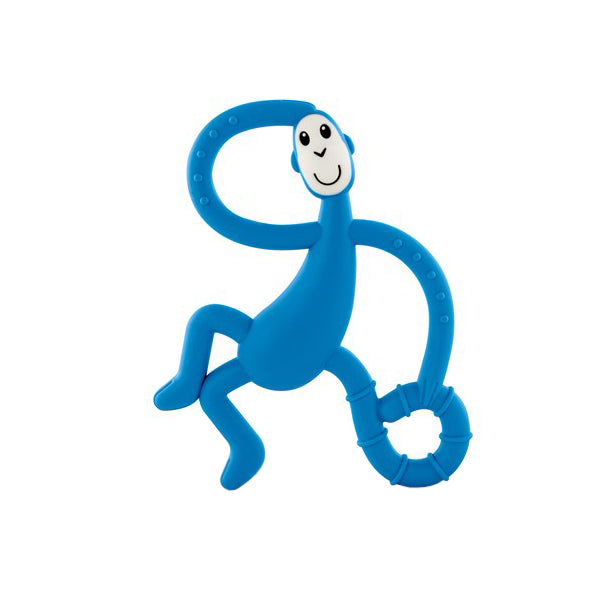 Matchstick Monkey Dancing Monkey Teether - Blue