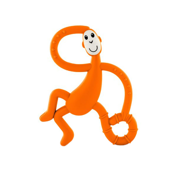 Matchstick Monkey Dancing Monkey Teether - Orange