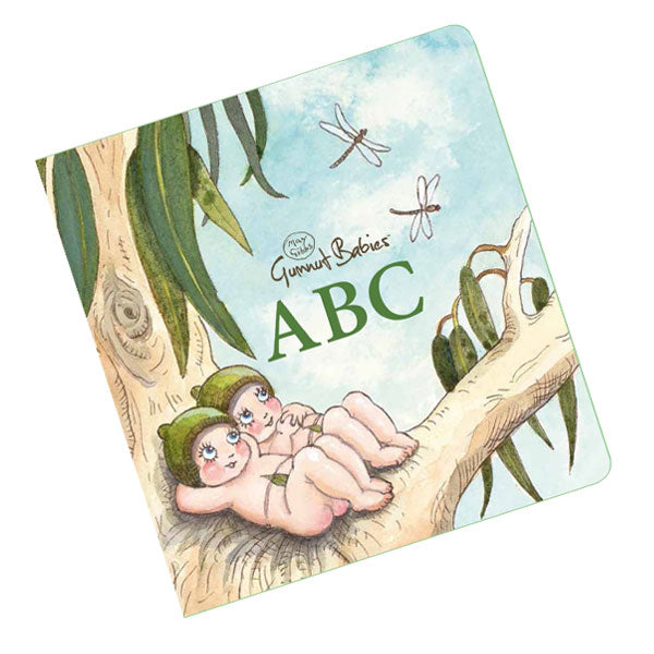 May Gibbs Gumnut Babies Board Book - ABC