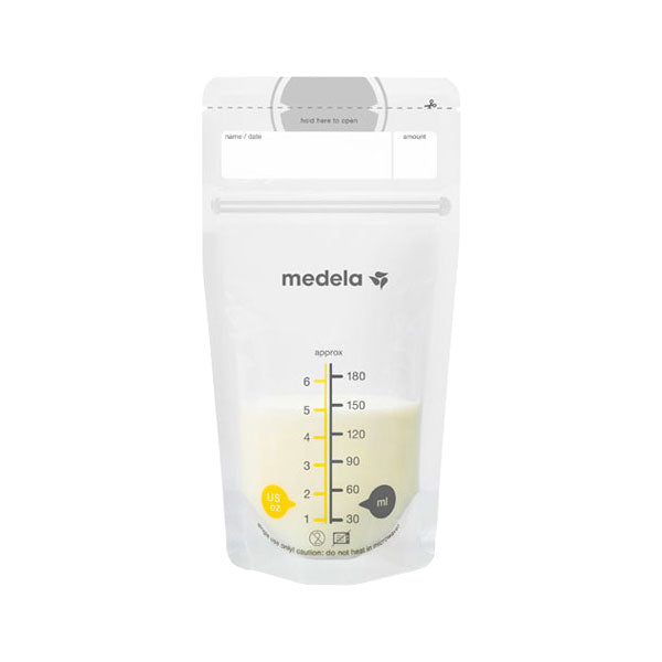 Medela Pump & Save Breastmilk Bags - 25pk