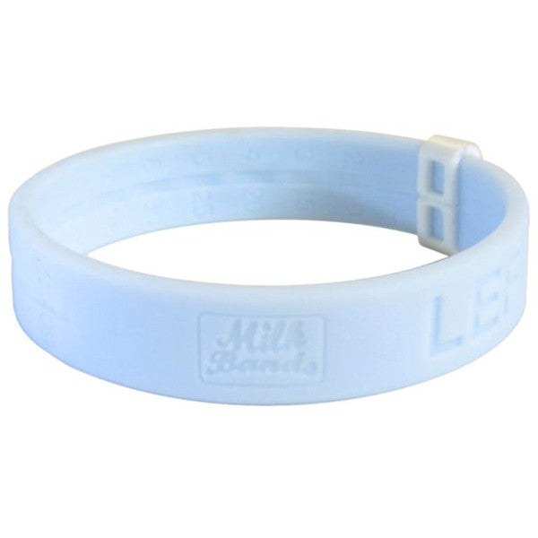 Milk Bands Nursing Bracelet - Light Blue