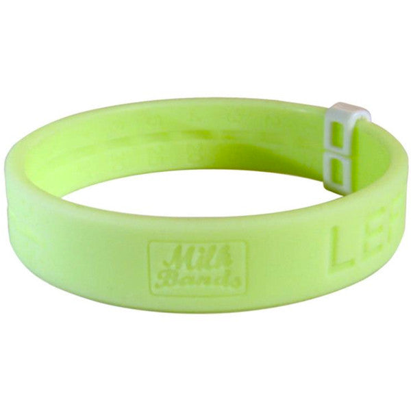 Milk Bands Nursing Bracelet - Lime Green