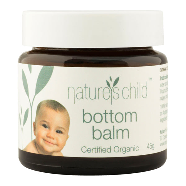 Natures Child Organic Bottom Balm - 45gms