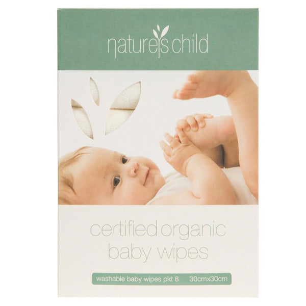 Natures Child Organic Cotton Baby Wipes