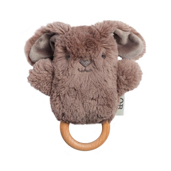 OB Designs Byron Bunny Wooden Teether