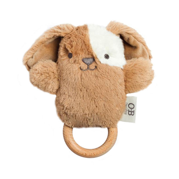 OB Designs Duke Dog Wooden Teether