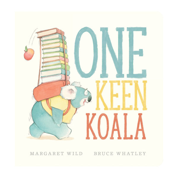 One Keen Koala Board Book