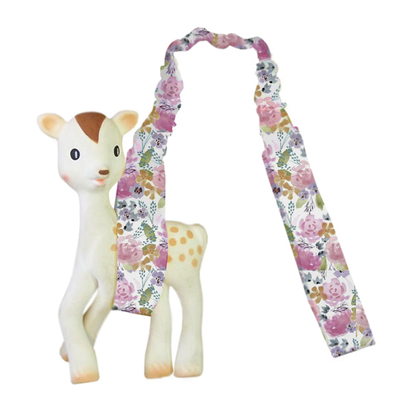 Outlook Watercolour Toy Strap - Floral Delight