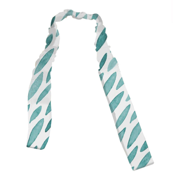 Outlook Watercolour Toy Strap - Teal Drops