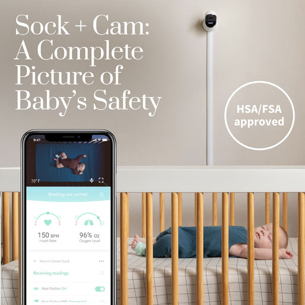 Owlet Monitor Duo 3 - Smart Sock 3 + Video Monitor
