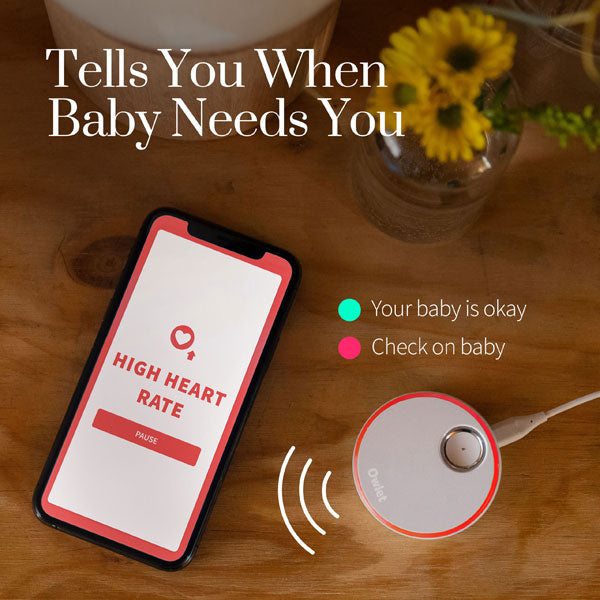 Owlet Smart Sock 3 Baby Health and Oxygen Monitor