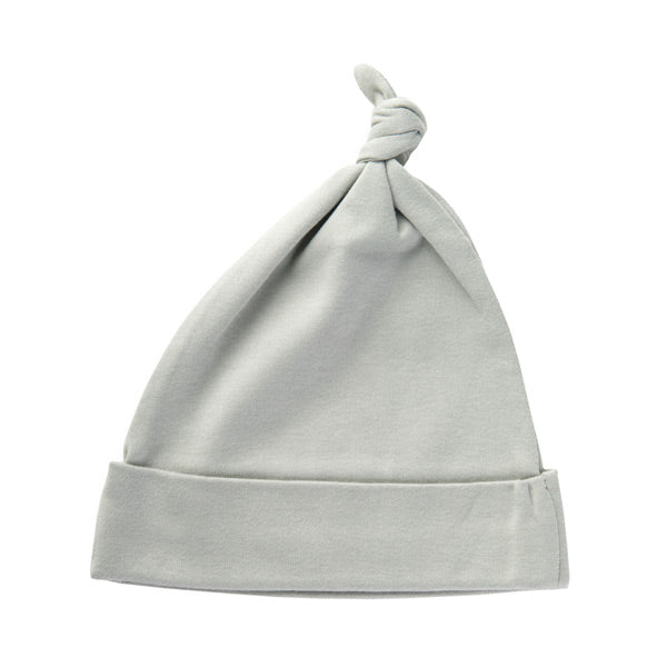 Sapling Organic Knotted Hat - Dove Grey