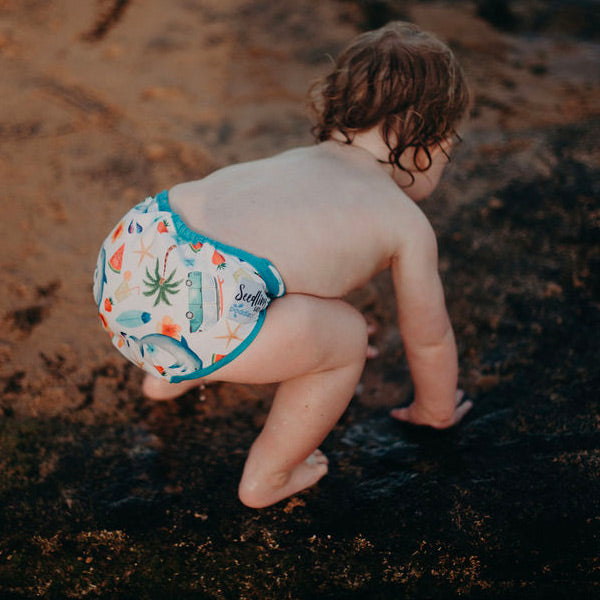 Seedling Baby Paddle Pants Reusable Swim Nappy - Summer