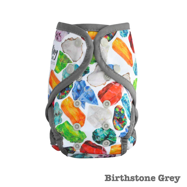 Seedling Baby Paddle Pants Reusable Swim Nappy - Birthstone Grey