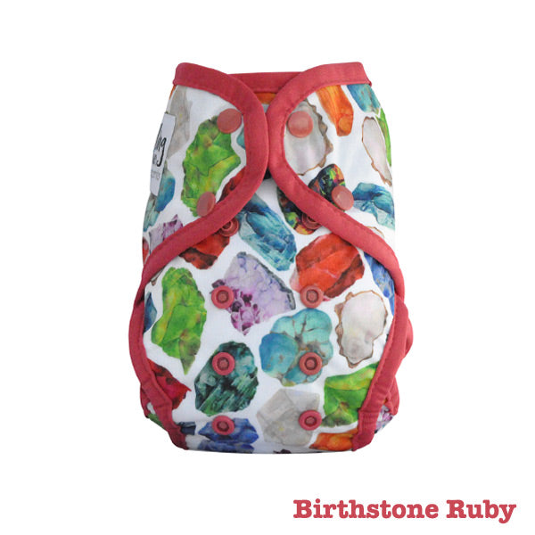 Seedling Baby Paddle Pants Reusable Swim Nappy - Birthstone Ruby