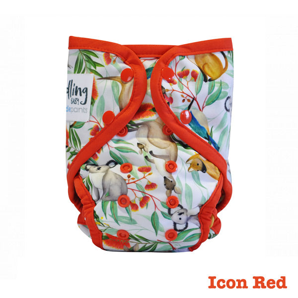 Seedling Baby Paddle Pants Reusable Swim Nappy - Icon Red
