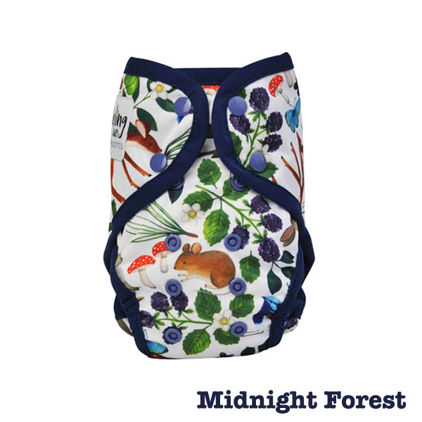 Seedling Baby Paddle Pants Reusable Swim Nappy - Midnight Forest