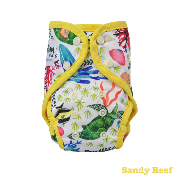 Seedling Baby Paddle Pants Reusable Swim Nappy - Sandy Reef