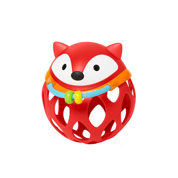Skip Hop Roll-Around Rattle - Fox