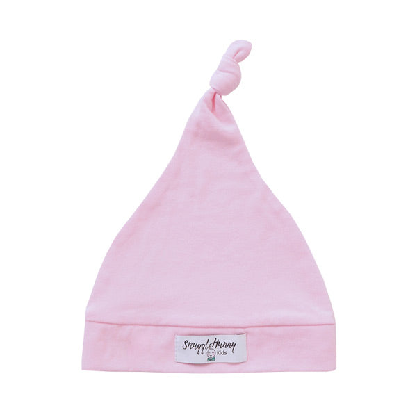 Snuggle Hunny Kids Knotted Beanie - Baby Pink