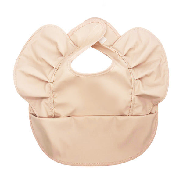 Snuggle Hunny Kids Waterproof Snuggle Bib - Nude