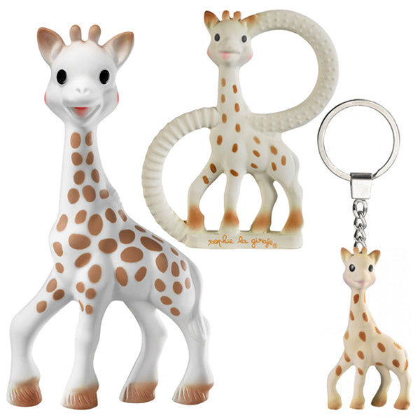 Vulli Sophie the Giraffe So Pure Trio