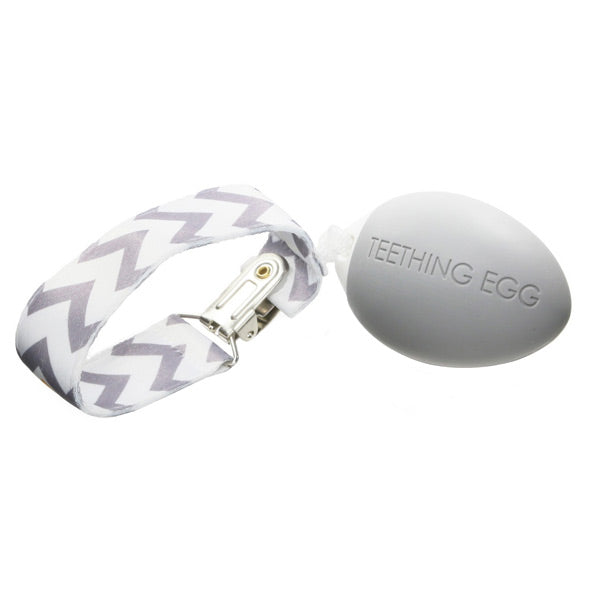 The Teething Egg - Light Grey