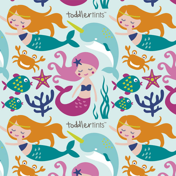 Toddler Tints Car Window Shade - Large Size - Mystical Mermaids