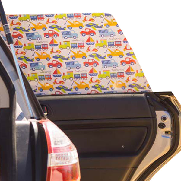 Toddler Tints Car Window Shade - Brrm Beep Whoosh