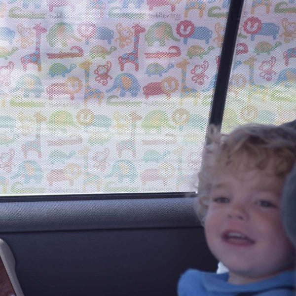 Toddler Tints Car Window Shade - Zoo Friends