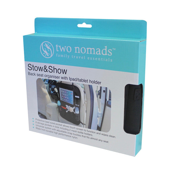 Two Nomads Stow & Show Back Seat Organiser