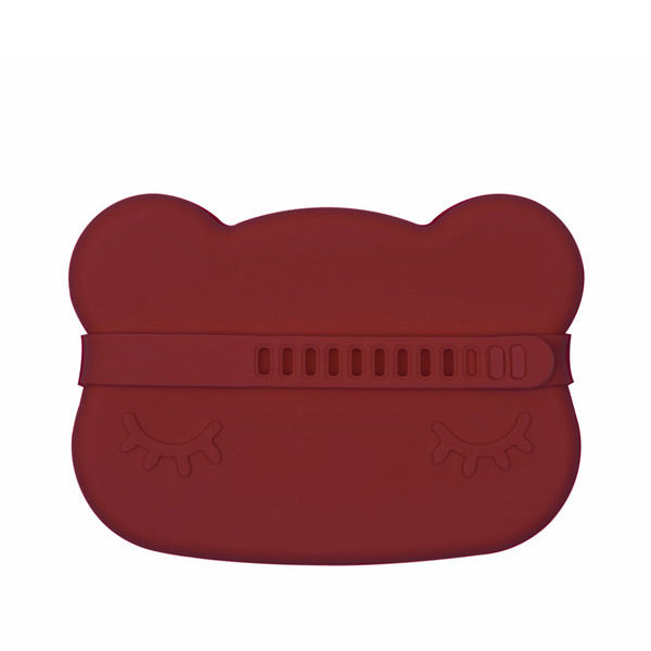 We Might Be Tiny Snackie Silicone Bowl + Plate - Bear