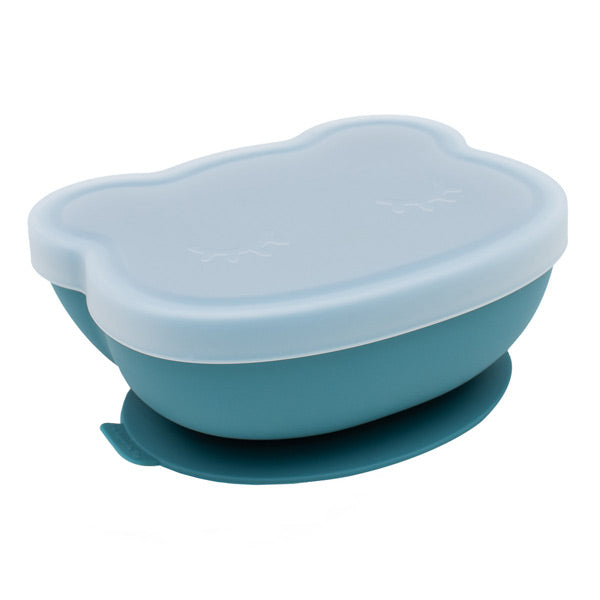 We Might Be Tiny Stickie Silicone Bowl - Blue Dusk