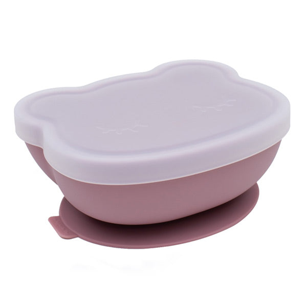 We Might Be Tiny Stickie Silicone Bowl - Dusty Rose