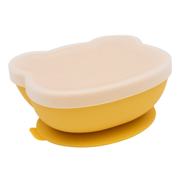 We Might Be Tiny Stickie Silicone Bowl - Yellow