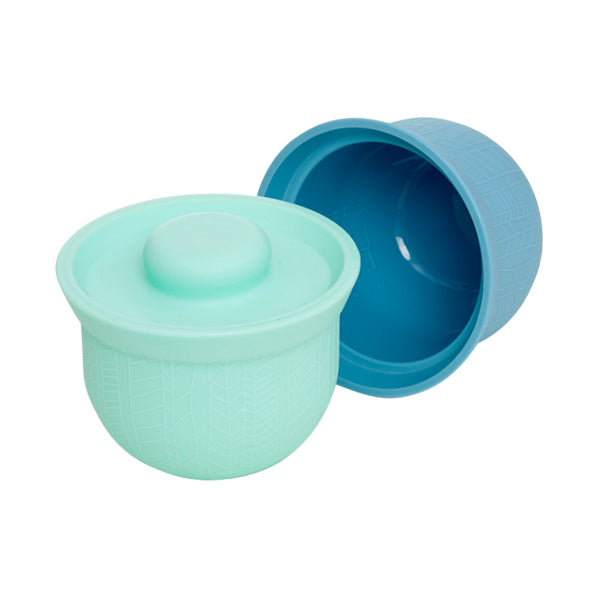 Wean Meister Silicone AdoraBowls - Mint, Teal
