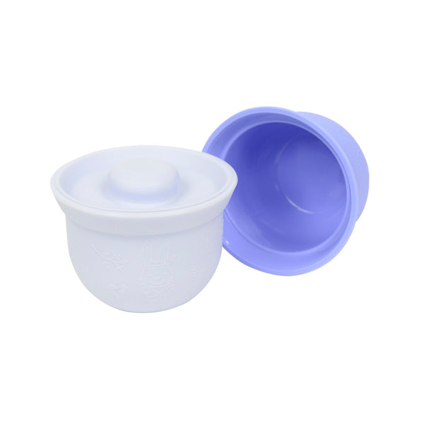 Wean Meister Silicone Mini AdoraBowls - Blue and Grey