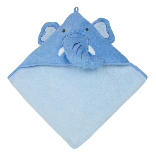 Weegoamigo Colourplay Hooded Towel - Elephant