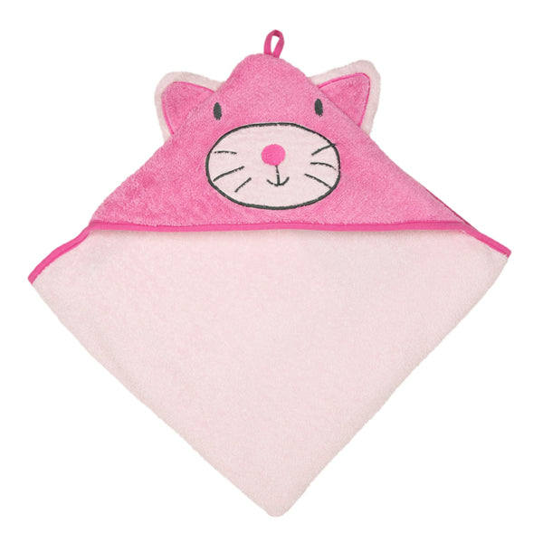 Weegoamigo Colourplay Hooded Towel - Kitten
