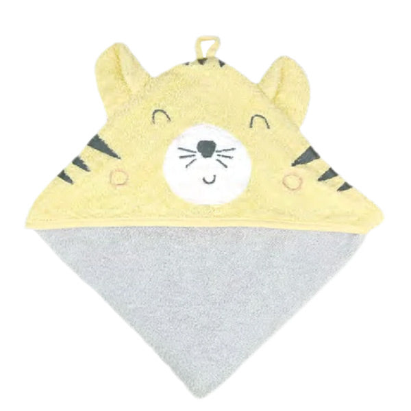 Weegoamigo Colourplay Hooded Towel - Tiger