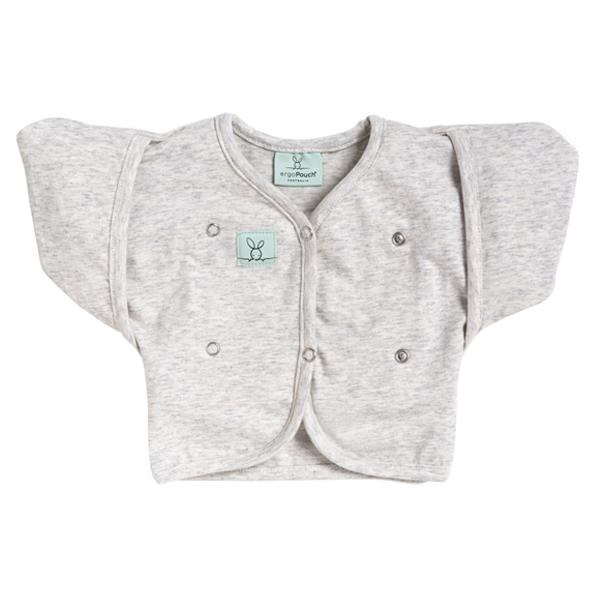 ergoPouch Butterfly Cardi - Grey Marle