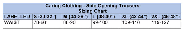 Mens Shorts Sizing Chart