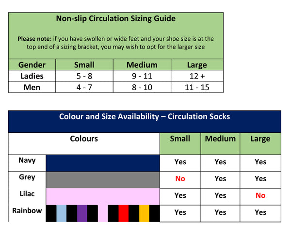 Non-slip Circulation socks