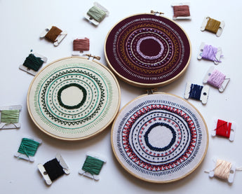 Ease: A Free Modern Embroidery Pattern