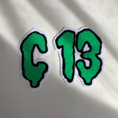 Custom Chenille Number Patches from Club Chainstitch