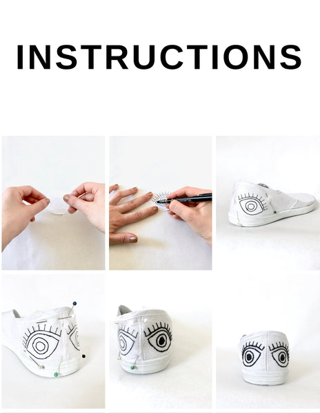 diy embroidery canvas shoes free project